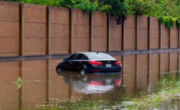 inundacion coche eléctrico